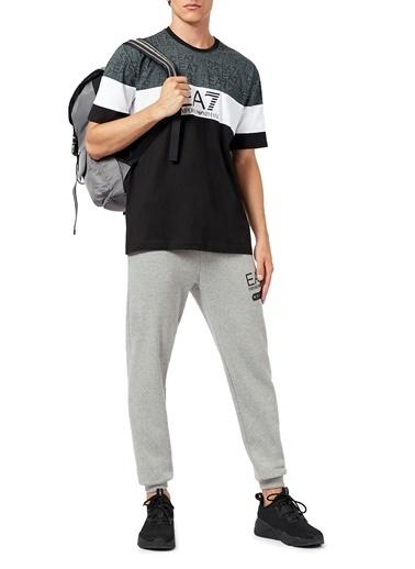 Emporio Armani  Baskılı Bisiklet Yaka % 100 Pamuk T Shirt Erkek T Shırt S 6Hpt12 Pj02Z 1200 Siyah